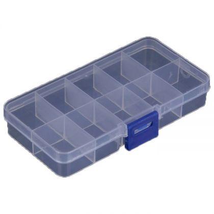 Органайзер для хранения 13x7x2,5 см, прозрачный