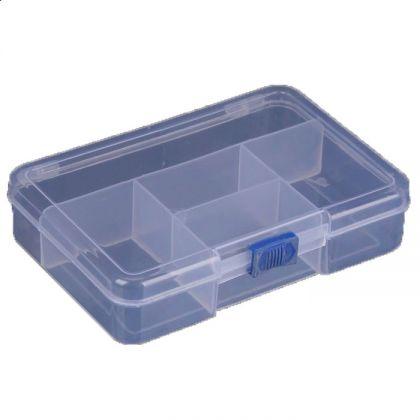 Органайзер для хранения 14,5x10,5x3,5 см, прозрачный