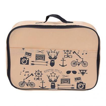 Сумка для багажа Hipster Style (35*25*10)