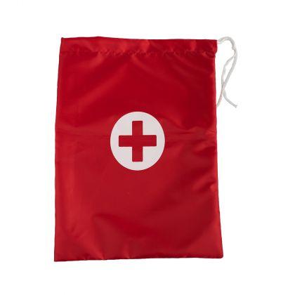 Сумка-аптечка HOMSU, красный, 30 х 45 см