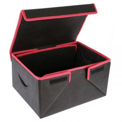 Органайзер в багажник складной, черный, 36 х 18,5 х 26 см