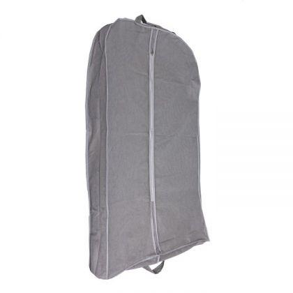 Чехол для зимней одежды и шуб, серый, 100 x 60 x 10 см
