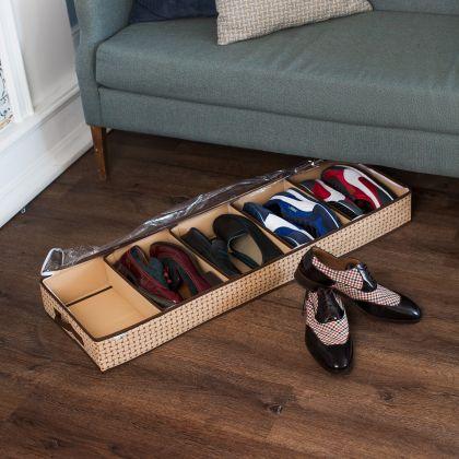 """Органайзер для обуви на 5 отделений """"Pletenka"""", 100 х 32 х 11 см"""