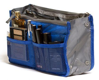 Органайзер для сумки синий Chelsy большой