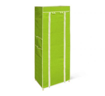 Стеллаж на 5 полок с чехлом, салатовый, 48х32,5х137 см