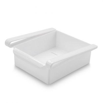 "Контейнер для холодильника ""Homsu"", белый, 20 х 20 х 7 см"