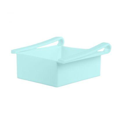"Контейнер для холодильника ""Homsu"", голубой, 20 х 20 х 7 см"