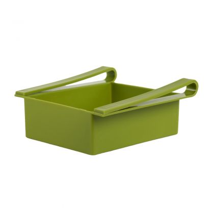 "Контейнер для холодильника ""Homsu"", зеленый, 20 х 20 х 7 см"