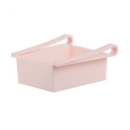 """Контейнер для холодильника """"Homsu"""", розовый, 20 х 20 х 7 см"""