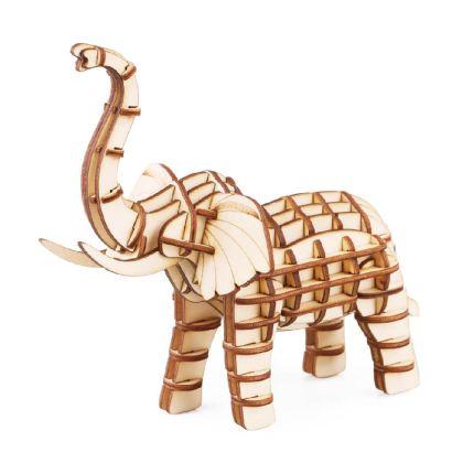 3D-пазл Слон 13x10x13 см