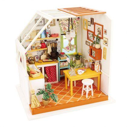 """Румбокс для создания миниатюры """"Уютная кухня"""", 19 x 16,5 x 18,7 см"""