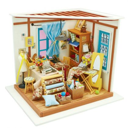 """Румбокс для создания миниатюры """"Кукольное ателье"""" 22,5 x 18,5 x 19 см"""