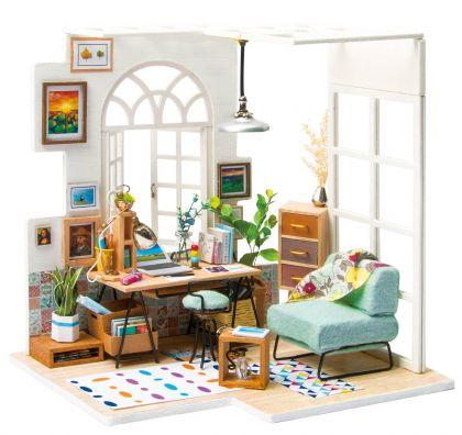"""Румбокс для создания миниатюры """"Домашний кабинет"""", 12 x 22 x 17,5 см"""