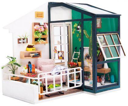 """Румбокс для создания миниатюры """"Балкон мечты"""", 13,5 х 17,9 х 16,5 см"""