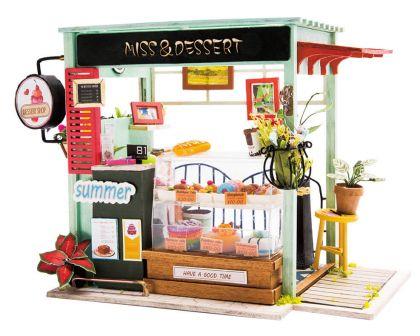 """Румбокс для создания миниатюры """"Кондитерский магазинчик"""" 20 х 12,5 х 15 см"""