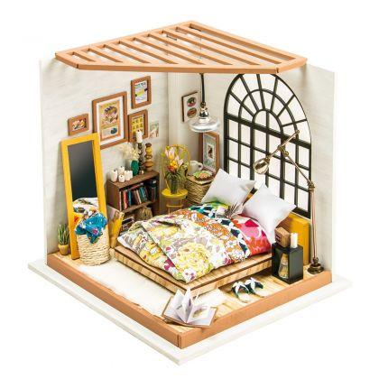 """Румбокс для создания миниатюры """"Комната отдыха"""" 20,3 x 18,4 x 18,7 см"""