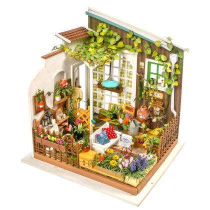 """Румбокс для создания миниатюры """"Сад"""", 19,5 x 18,3 x 21 см"""