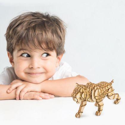 3D-пазл Саблезубый тигр 14x4,5x7,5 см