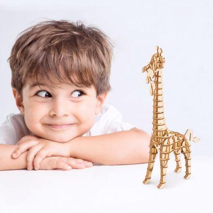 3D-пазл Жираф 10x4,5x18,5 см