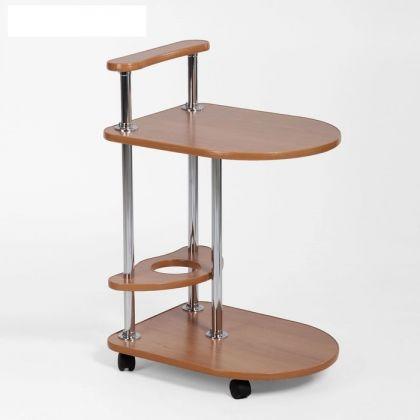 """Сервировочный столик """"Голд"""", коричневый, 40 х 50 х 55 см"""