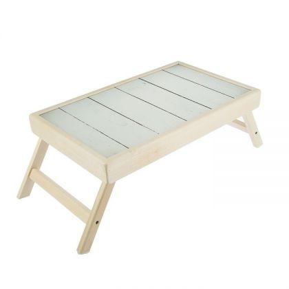 """Деревянный столик для завтрака в постель """"Дерево"""", 50 х 30 см"""
