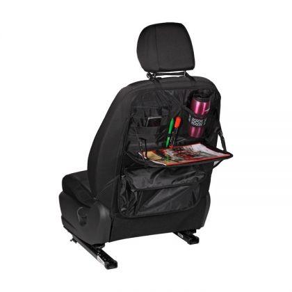 """Органайзер на спинку переднего сидения со столиком """"Торсо"""", серый, 59 х 40 х 25 см"""
