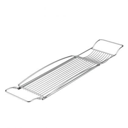 Металлическая полка для ванной, 88 х 17 см