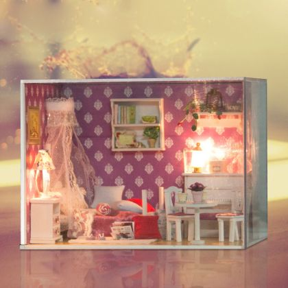 "Румбокс ""Спальня принцессы"", 17 x 13 x 13 см"