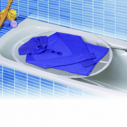 "Сетка для белья на ванну ""Dry"", белый, 77 х 75 х 1 см"