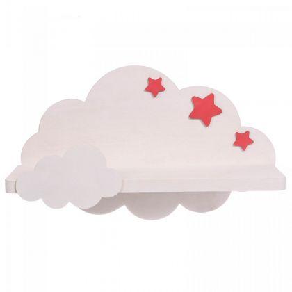 """Полка настенная """"Cloud"""", белый, 25 х 25 х 40 см"""