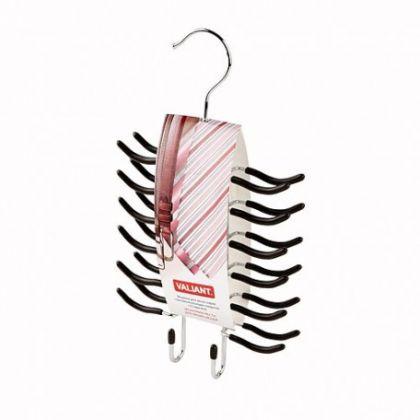 Вешалка для одежды и аксессуаров металлическая, 24 крючка