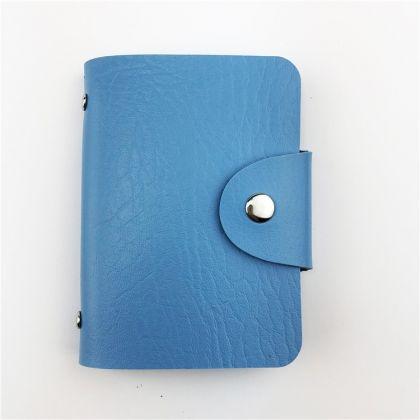 Кардхолдер синий, 10,5 х 7 см