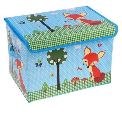 """Коробка для хранения """"Fox"""", 40 х 26 х 26 см"""