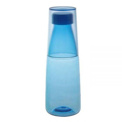 """Бутылка """"Sport"""" со стаканом-крышкой, 550 мл, 7 х 7 х 21 см"""