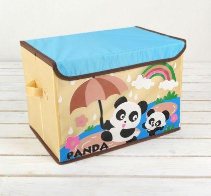 """Короб для хранения """"Panda"""", 38 х 25 х 26 см"""