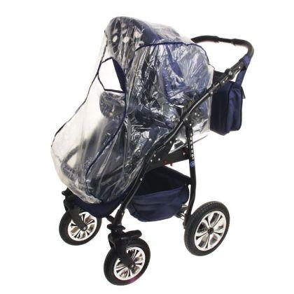 Дождевик для детской коляски универсальный