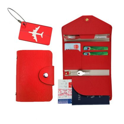 Комплект для путешествий, красный