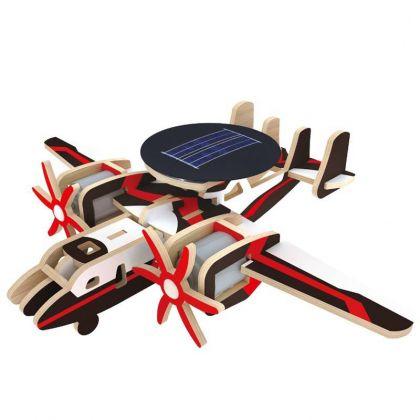3D-пазл Патрульный самолет с мотором, 16 x 19 x 6 см
