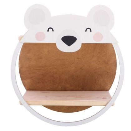"Полка детская ""Медвежонок"", 15 х 35 х 38 см"