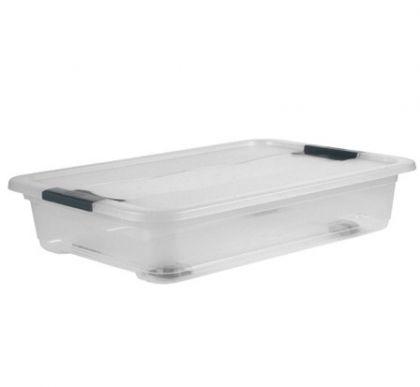 Ящик для хранения с колесами Кристал 33л