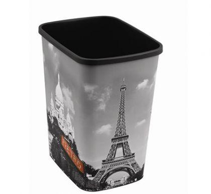 """Корзина для мусора без крышки """"Париж"""" на 25 л"""