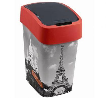 Корзина для мусора с крышкой Париж 25л