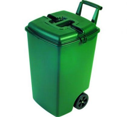 Контейнер для мусора на колесах 90л