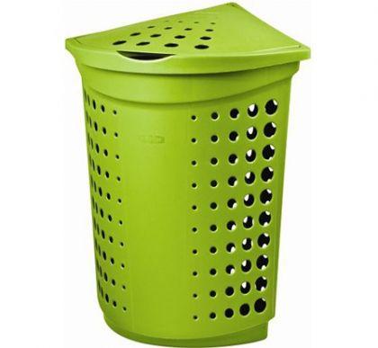 Ящик для хранения белья угловой 40л, разные цвета