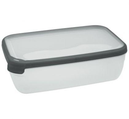 Контейнер для микроволновой печи прямоугольный 1,8л, разные цвета