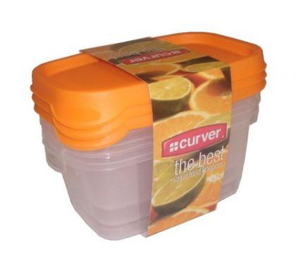 Набор контейнеров для микроволновой печи 3 шт 0,5л