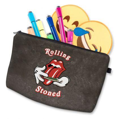 """Косметичка """"Rolling Stoned"""", 20 х 4 х 14 см"""