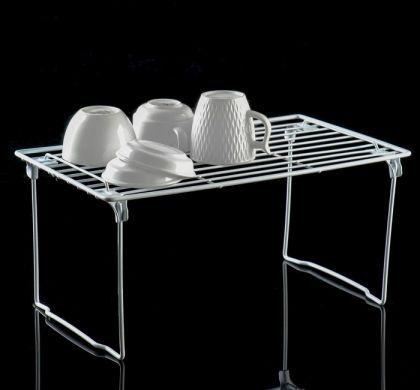 Сушилка для посуды на ножках, белый, 40 х 23 х 19 см