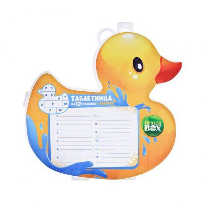 """Таблетница """"Duck"""", 15 х 2 x 14,5 см"""