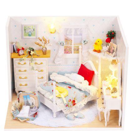 """Румбокс """"Спальня для девочки"""", 17 x 13 x 13 см"""